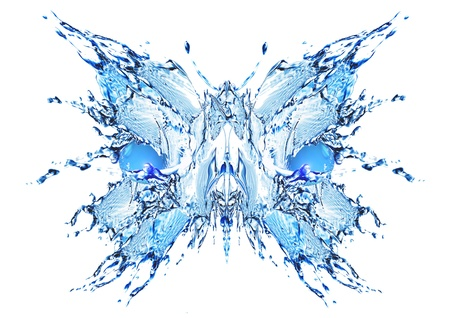 water butterfly Stock Photo