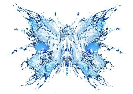 water butterfly Фото со стока