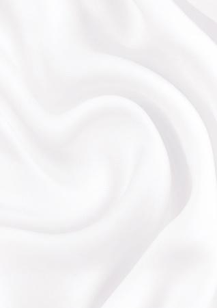 Smooth elegant white silk Stock Photo
