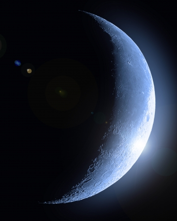 Half moon Stock Photo - 13994413