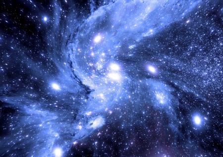 Csillagok egy bolygó és a galaxis egy szabad hely