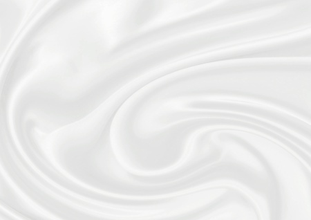 silk: Smooth elegant white silk can use as fine background Stock Photo