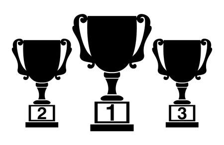 Champions cups, award design Vector
