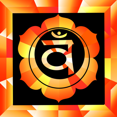 swadhisthana: Swadhisthana ilustraci�n vectorial chakra