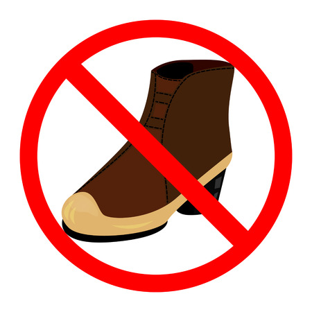 illegality: Sign No Shoes