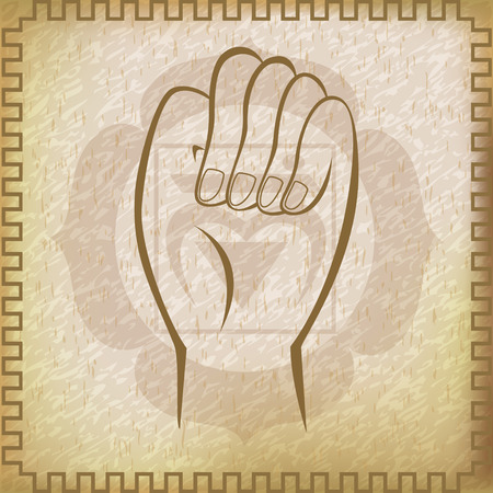 survival: Survival Mudra for Muladhara chakra
