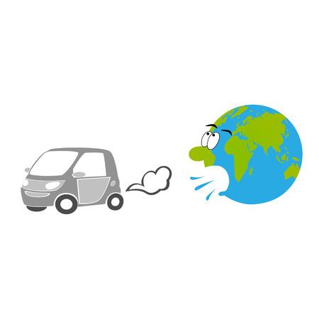 impurity: Car exhaust