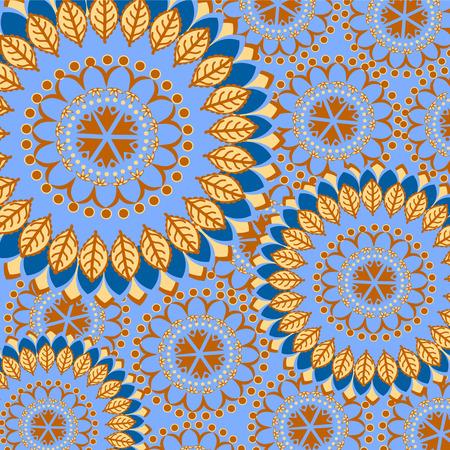 mandalas: Pattern with colorful mandalas