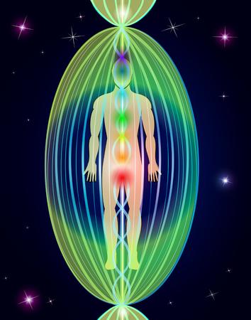 Human aura Vettoriali