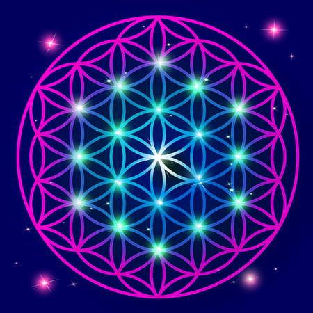 Flower Of Life Mandala ornament
