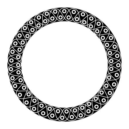 round: Round frame