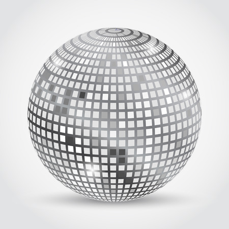 Disco Ball. Vector Illustration