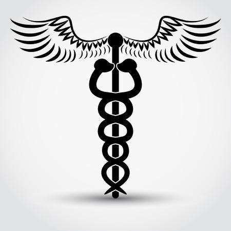 caduceus - medical symbol