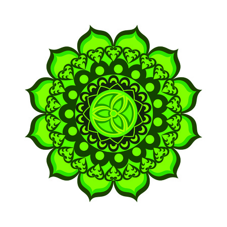 anahata: Anahata chakra vector illustration Illustration