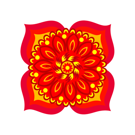 muladhara: Muladhara chakra vector illustration Illustration