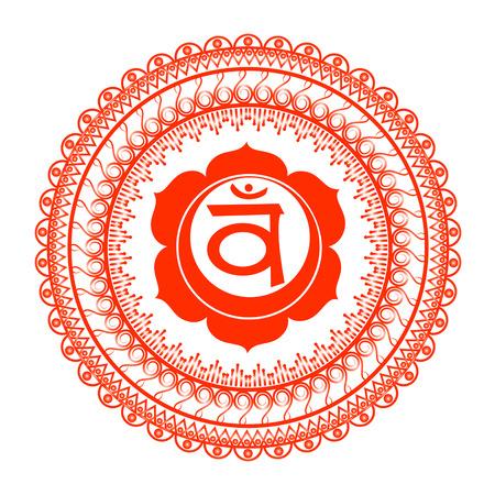 Circle mandala pattern