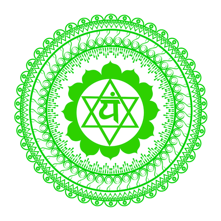 aura energy: Circle mandala pattern