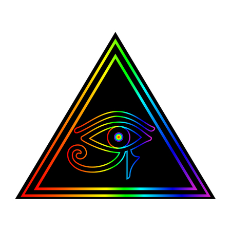 The Eye of Horus illustration.