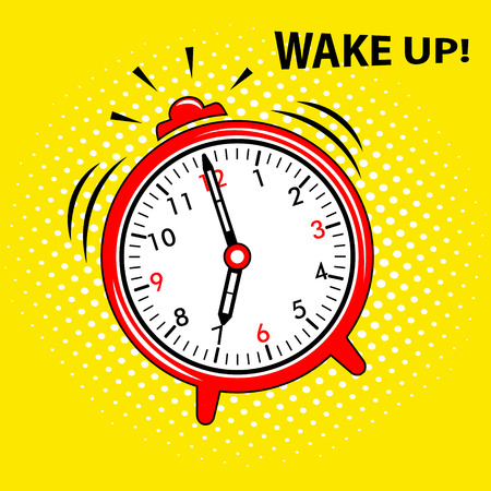 目覚まし時計のアイコン  イラスト・ベクター素材