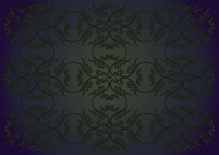 baroque background: Violet-green baroque background.