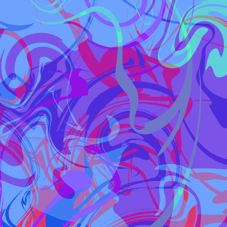Abstract artistic background with curled pattern.