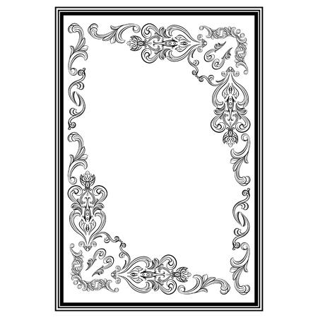 Stucco frame. Moldings. Stucco pattern