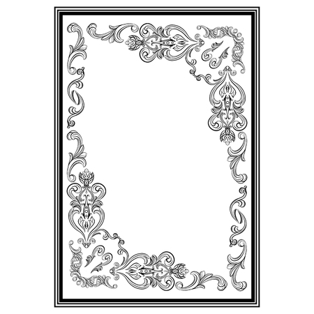 Stucco frame. Moldings. Stucco pattern