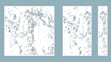 splatter, spots, blots to cut with a laser from paper. Suitable for laser cutting, plotter and silk screen printing. serigraphy