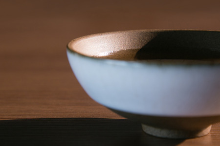 tableware life: close up of bowl