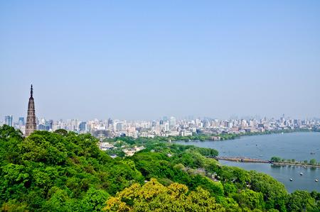 city park: cityscape