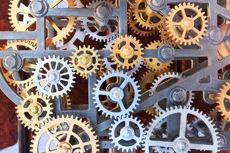 watch movement: Clock gear set background