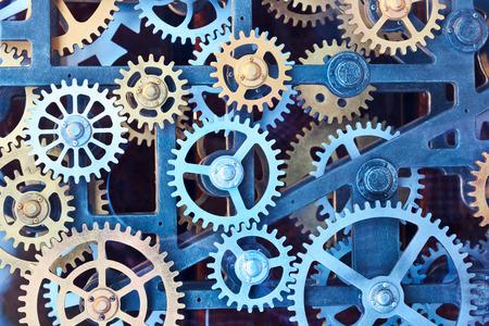 engranajes: Juego de engranajes de reloj