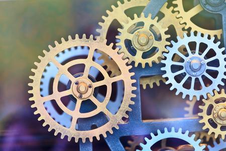watch movement: Clock gear set