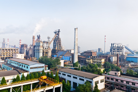 steelworks: Hangzhou steelworks equipment in China Editorial