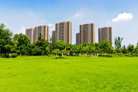 modern living: suburban of modern living environment Editorial