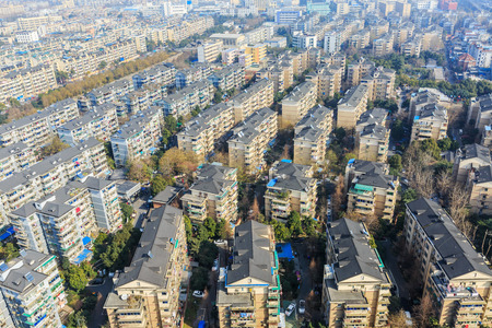 areas: Hangzhou urban residential areas in China