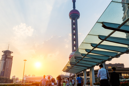 oriental pearl tower: Oriental Pearl Tower Editorial