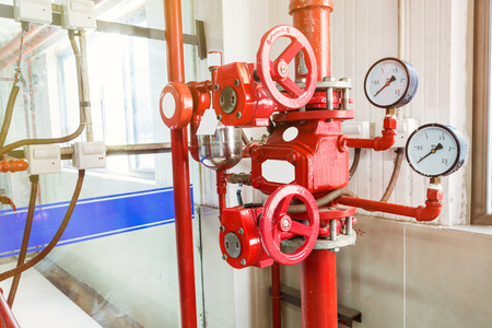 pipe and manometer
