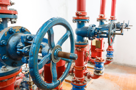 industry: industry pipe Stock Photo