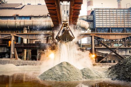 steel building: production line
