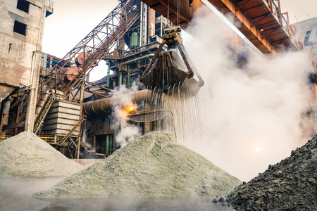 steelworks: production line