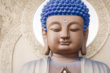 scenic spots: Hangzhou, China - September 9, 2015: Hangzhou Lingyin Temple Buddha in the interior, lingyin temple is a famous Chinese buddhist temple, lingyin Temple is one of the famous scenic spots in Hangzhou . Editorial