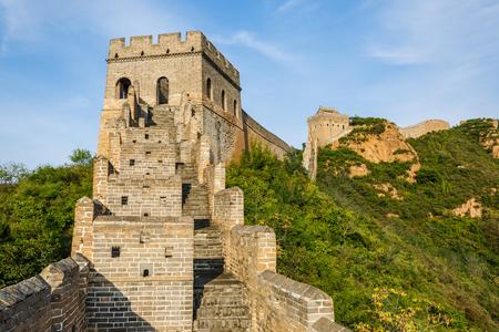 Great Wall in Beijing in China 免版税图像