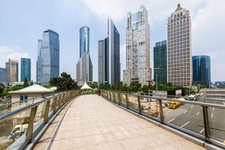 shanghai: Shanghai urban landscape in China