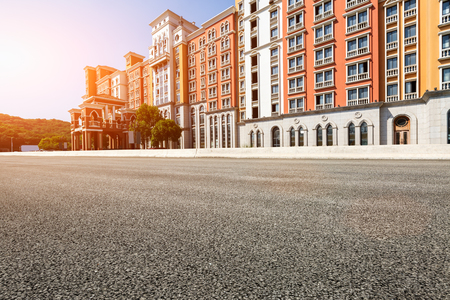 asphalt: Apartments in  China Editorial