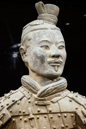 terra: Xi an, China - on September 26, 2015:the worlds most famous statue of the Terra Cotta Warriors,The eighth wonder of the world,qin shihuang terracotta army is one of the world cultural heritage.