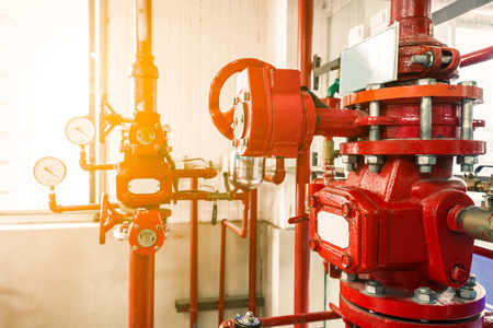 Industrial fire extinguishing system