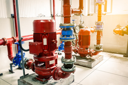 extinguishing: Industrial fire extinguishing system