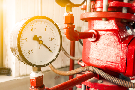 fire extinguishing: Industrial fire extinguishing system