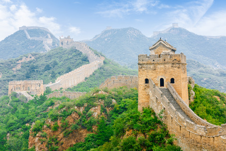 Beautiful scenery of the Great Wall, China Banque d'images